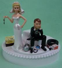 and chain cake topper wedding cake topper auto car mechanic grease monkey racing key