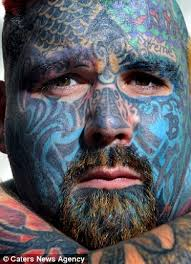 britain u0027s most tattooed man spends thousands having artwork