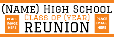 high school reunion banners 17 png