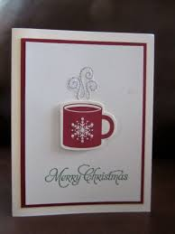 super cute and easy christmas card stamping card projects