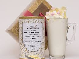 hot chocolate gift luxury white hot chocolate gift set martin s chocolatier