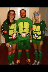 Teenage Mutant Ninja Turtles Halloween Costumes Girls Diy Ninja Turtle Costumes 30 Bigdiyideas Diy