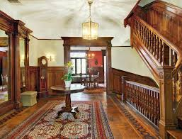New England Style Homes Interiors by Victorian Interiors Harlem New York West 142nd Street Brownstone