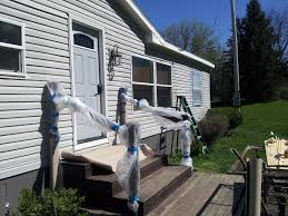 Mobile House Can I Paint My Mobile Home Yes I Can My Mobile Home Makeover