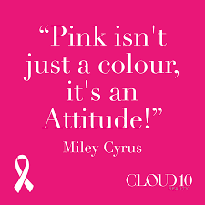 Pink Colour by Pink Isn U0027t Just A Colour It U0027s An Attitude Miley Cyrus Cloud