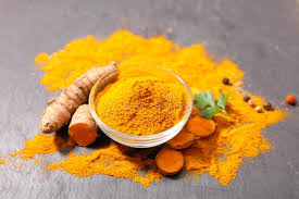 cuisine curcuma curcuma powder and root stock image image of cuisine 115782391