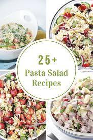 pasta salad recipes the idea room