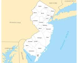 Trenton Nj Zip Code Map by Monmouth County Map New Jersey Cities In New Jersey Map Of New