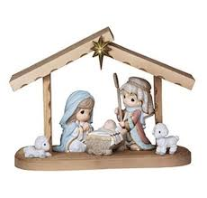 precious moment come let us adore him nativity set hooked on