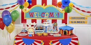 Carnival Themed Table Decorations Carnival Party Birthday Express