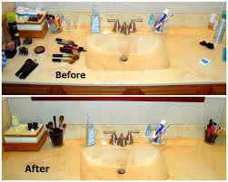 organizing bathroom ideas bathroom countertop organization dzuls interiors
