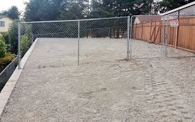 How To Regrade A Backyard Lacey Yard Regrading And Retaining Wall Ajb Landscaping U0026 Fence