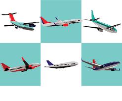 cartoon airplanes vector vector art u0026 graphics freevector com