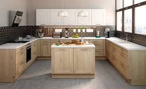 cuisines en bois cuisine bois clair moderne et douane cuisine en bois clair idées