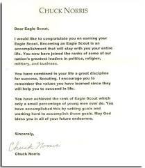 check out 30 of the coolest eagle scout letters i u0027ve seen bryan