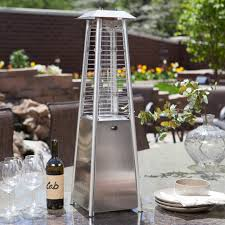 Lava Heat Patio Heaters Az Patio Heater Stainless Steel Glass Tube Tabletop Heater Hayneedle
