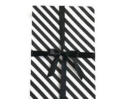 black and white striped wrapping paper black white splatter wrapping paper splatter paper