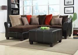 Corduroy Sectional Sofa Brown Corduroy Sectional And Sofa Set