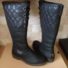 s ugg australia elsa boots ugg australia womens elsa boot black size 7 5 ebay