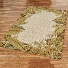 Area Rugs Tropical Paradise Cove Stain Resistant Tropical Area Rugs