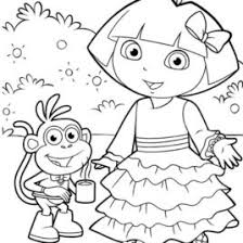 dora coloring games kids drawing coloring pages marisa