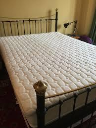 King Size Bed Topper Dorma Tencel Blend King Size Memory Foam Mattress Topper In