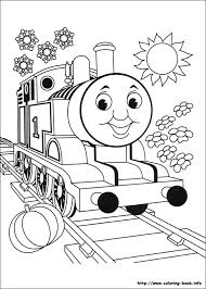 thomas friends coloring picture coloring kid