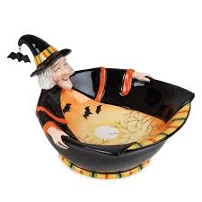 amazon com boo halloween collection witch bowl serving bowls
