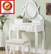 Guidecraft Classic White Vanity And Stool Kid U0027s Bedroom Vanities U0026 Makeup Tables Ebay