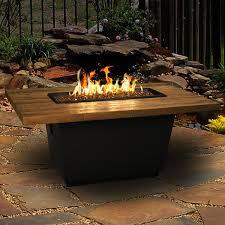 Outdoor Gas Torch Lighting American Fyre Designs Cosmopolitan 54 Inch French Barrel Oak Propane