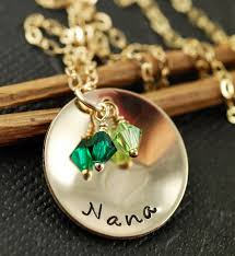 grandmother necklace great gift idea for abuela sted grandmother