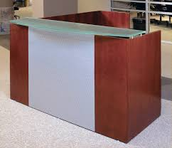 Napoli Reception Desk Mayline Napoli Reception Desk Hostgarcia