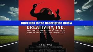 read pdf online creativity inc overcoming the unseen forces