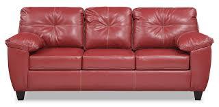 Leather Sofa Furniture Ricardo Sofa Cardinal Value City Furniture