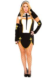 religion costumes nun priest halloween costume