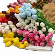 compare prices on artificial latex tulip online shopping buy low
