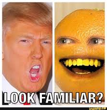 Orange Memes - annoying orange vs donald trump funny pinterest donald trump