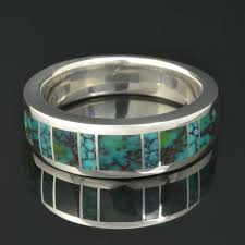 Turquoise Wedding Rings by 33 Best Turquoise Wedding Rings U0026 Wedding Sets Images On Pinterest