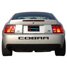 2004 Mustang Cobra Black Graphic Express N599 Bk Mustang Rear Bumper Decal Cobra Black 03 2004