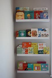 Bookcase For Kids Room by Diy Picture Book Ledge May Be The Perfect Solution For Part Of