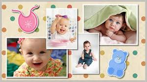 baby album baby album style pack choice slides