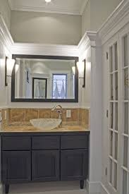 vanity alcove with side lights bathroom pinterest alcove in