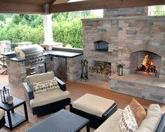Pizza Oven Outdoor Fireplace by Outdoor Fireplace Kits With Pizza Oven Outdoor Kitchen