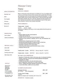 resume qualification sample resume summary of qualifications