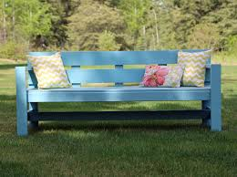 White Modern Outdoor Furniture by Ana White Modern Park Bench Diy Projects