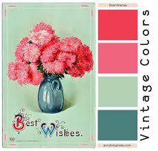 Bathroom Ideas Vintage Colors Best 10 Vintage Color Schemes Ideas On Pinterest Vintage Colour