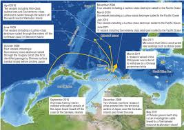 East China Sea Map The Strategic Value Of Territorial Islands From The Perspective Of