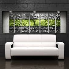 Contemporary Art Home Decor Amazon Com Metal Wall Art Panels Modern Contemporary
