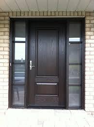 Frosted Glass Exterior Doors Fiberglass Doors Toronto Custom Fiberglass Doors