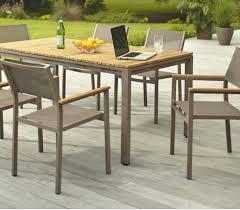 brand new patio furniture hampton bay barnsdale teak 7 piece